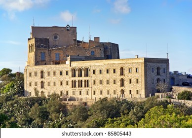 Spanish monastery of Sant Salvador in Felanitx (Majorca - Spain)