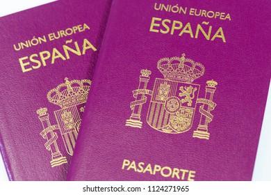 Spanish passport to travel around the world