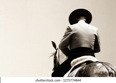 spanish rider on horse