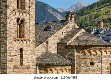 Spanish romanesque. Sant Climent de Taull church. Vall de Boi. Spain