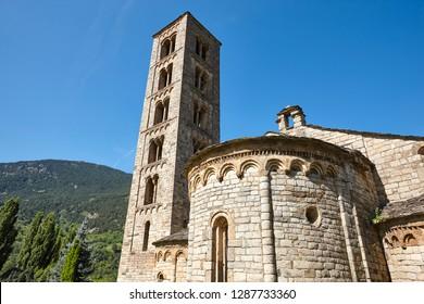Spanish romanesque. Sant Climent de Taull church. Vall de Boi