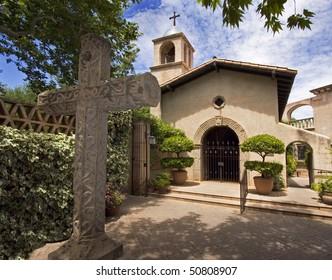 Spanish style in Sedona, Arizona