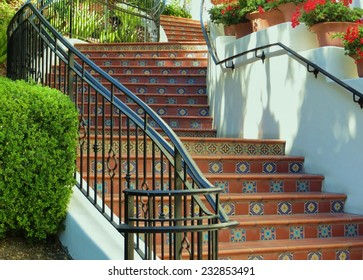 Spanish Style Staircase