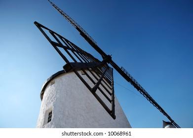 Spanish windmill in Castilla