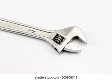 Spanner on the white background