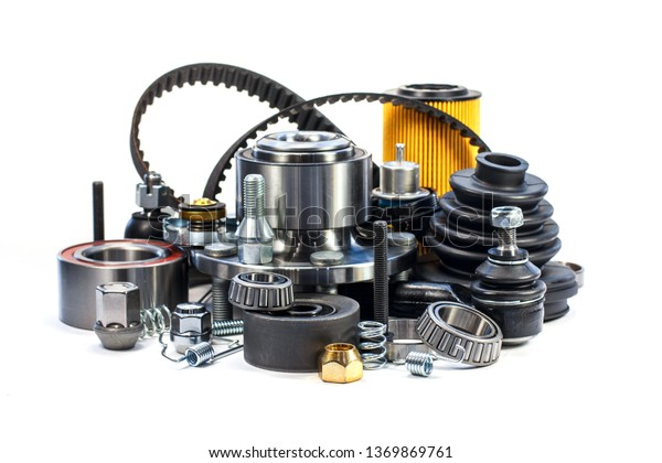 Parts For Cars >> Spare Parts Cars On White Background Stock Photo Edit Now