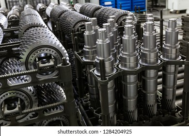 spare parts for cars. Production Gear