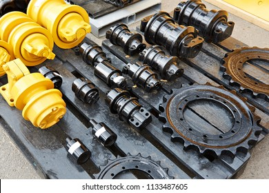 Spare parts for chassis of construction machinery