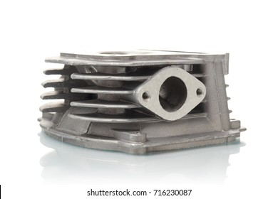 spare parts on a white background