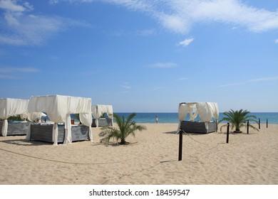 The spa-resort on the Black Sea in Bulgaria.