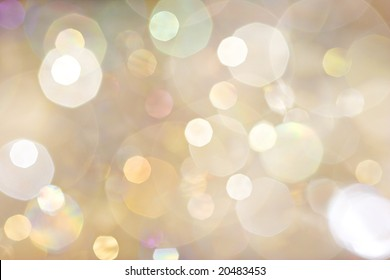 Sparkle - beautiful sparkly background in soft champagne colors