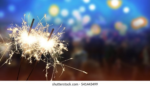 sparkler - New Year / New Year's Eve / celebration