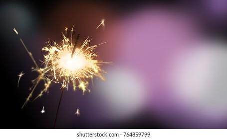 sparkler - New Year / New Year's Eve / celebration