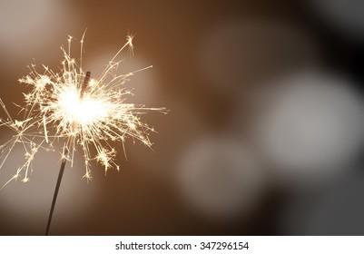 sparkler - New Year's Eve