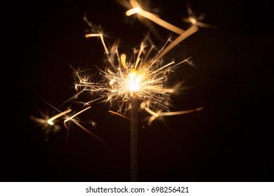 Sparklers background