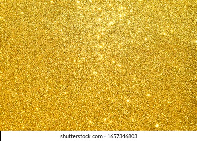 sparkles of golden plate texture background