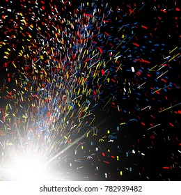 sparkling abstract background