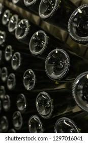 Sparkling wine making detail