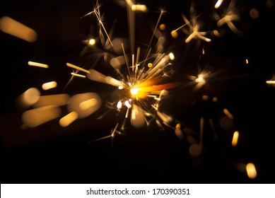 sparks from a Bengal fire