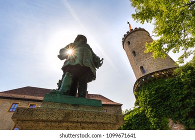 sparrenburg castle bielefeld germany in the summer