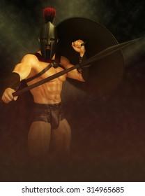 spartan ready for war