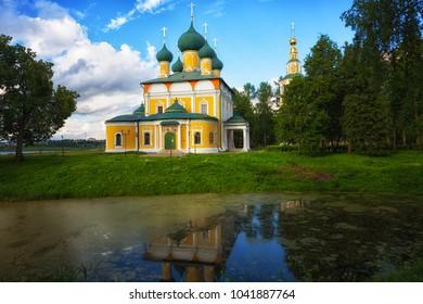 Spaso-Preobrazhensky Cathedral in Uglich, Russia