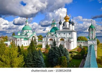 Spaso-Yakovlevsky Monastery in Rostov Veliky, Russia