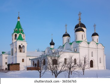 Spasskiy cathedral in winter at Murom. Russia