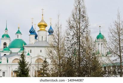 Spasso-Yakovlevsky Monastery in Rostov Veliky, Russia