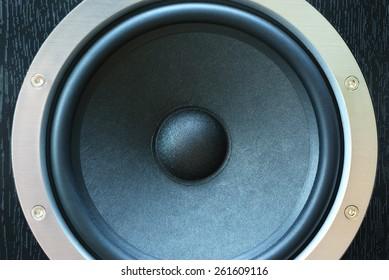 speaker close up. Element speaker system