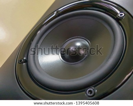 Speaker Driver Woofer 5 Inches Low Stock Photo (Edit Now) 1395405608