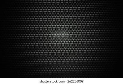 Speaker grill texture black