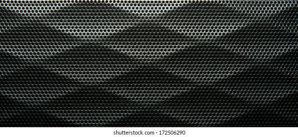 Speaker metal texture