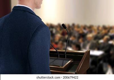 Speaker at Seminar Presentation