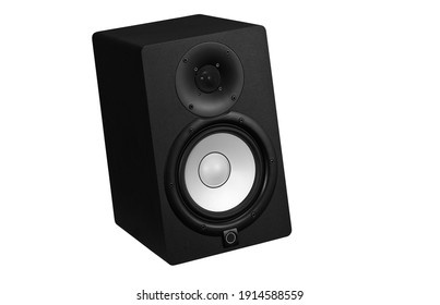 Speaker with white background picture