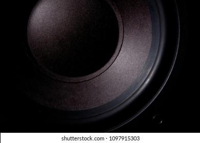 Speakers in black