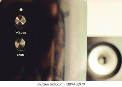 speakers, sound, music