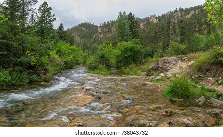 Spearfish Canyon in the Black Hills of South Dakota