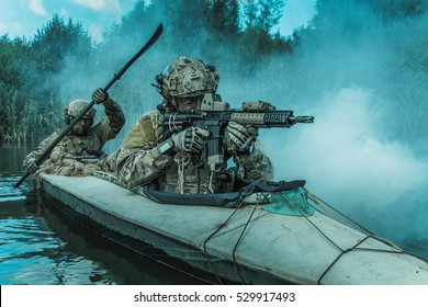 Spec ops in the military kayak