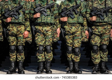Special army force unit full equipped
