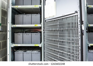Special case where batteries are stacked for emergency relief if there are problems with the electricity grid