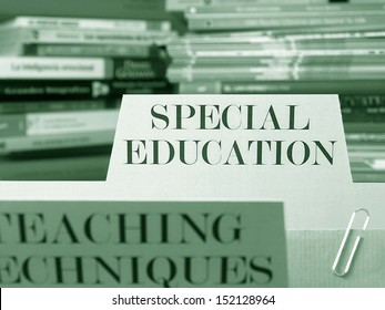 Special education books