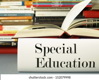 Special education and training: learning and teaching books