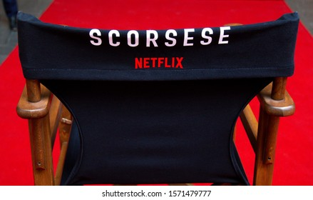 "Special event of Netflix's new movie ""The Irishman"" at Kanyon Shopping Mall. ISTANBUL / TURKEY - NOVEMBER 26, 2019."