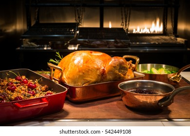 special roasted turkey setting for christmas party
