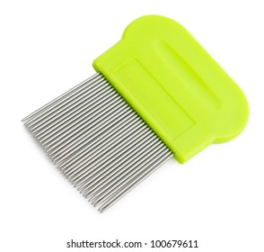 a special tooth comb for lice and nits removing