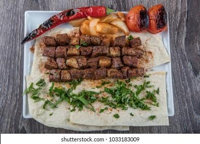 Turkish Kebab Plate Images Stock Photos Vectors Shutterstock