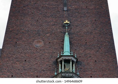 Special views of Stockholm City Hall in the Swedish capital
