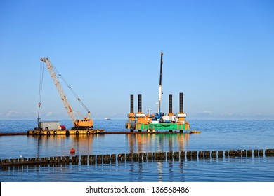 Specialized equipment for water works engineering.