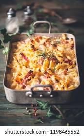 Speck and Rosemary Mac And Cheese Macaroni, Comfort Food for Winter